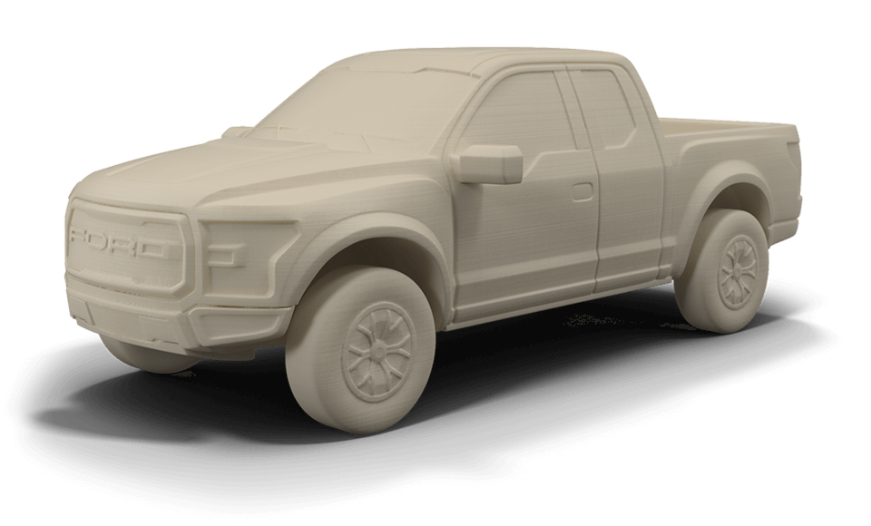 D Printing Plastic Model Cars And Parts