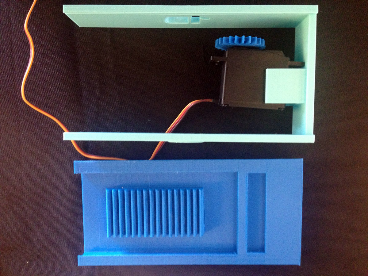 3D printed pavlov's fridge GE first build makerbot