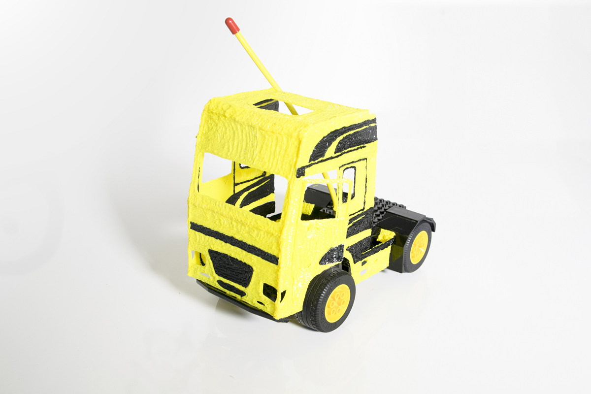 3DSimo 3D printed truck