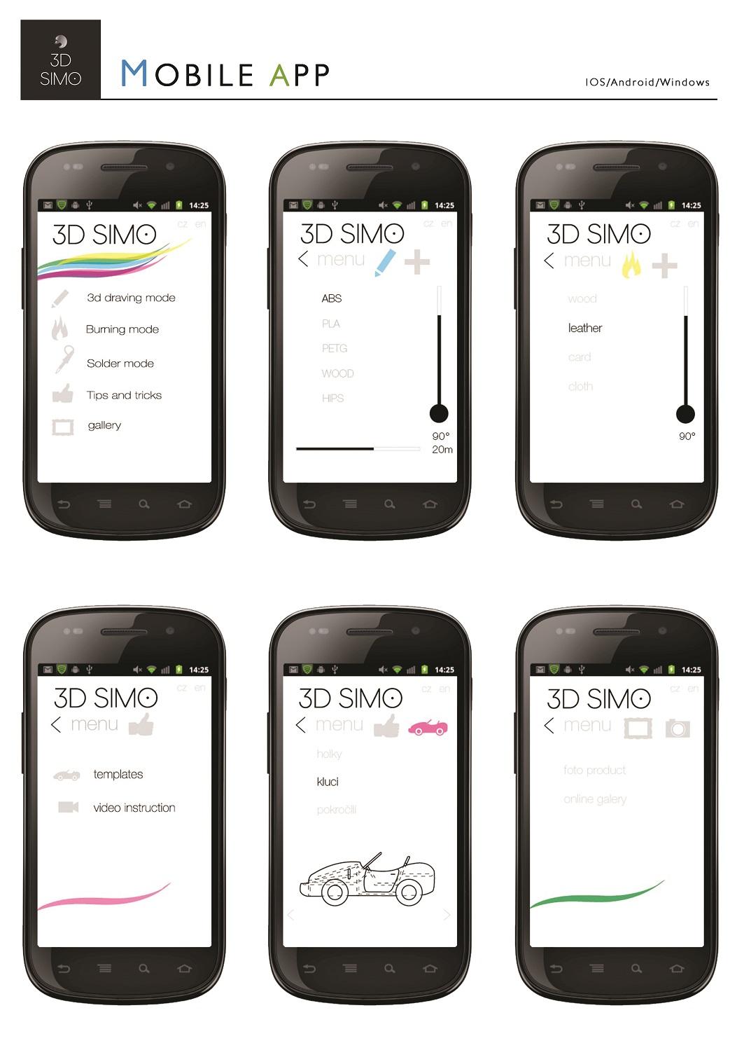 3DSimo Mobile App 1