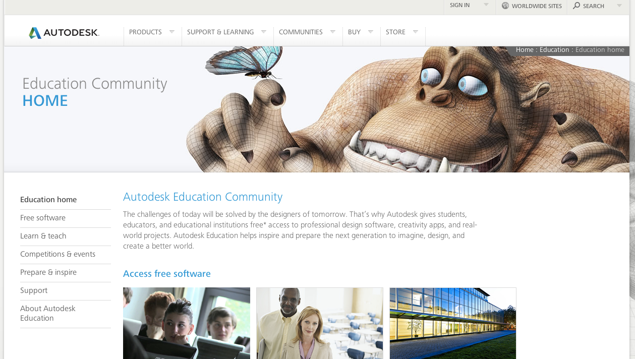 Autodesk_Student_Community___Free_Software___Resources_for_Education