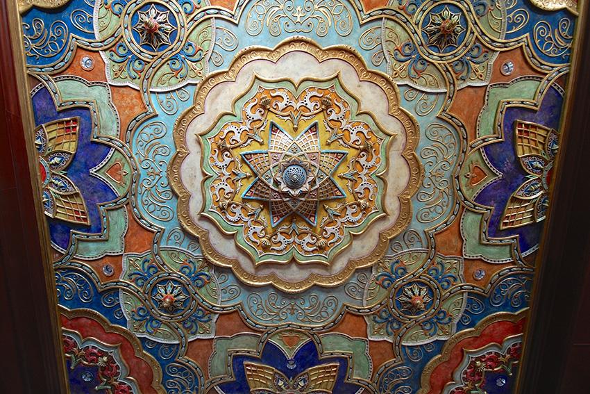 Aztec Scenic Designs 3D printed ceiling
