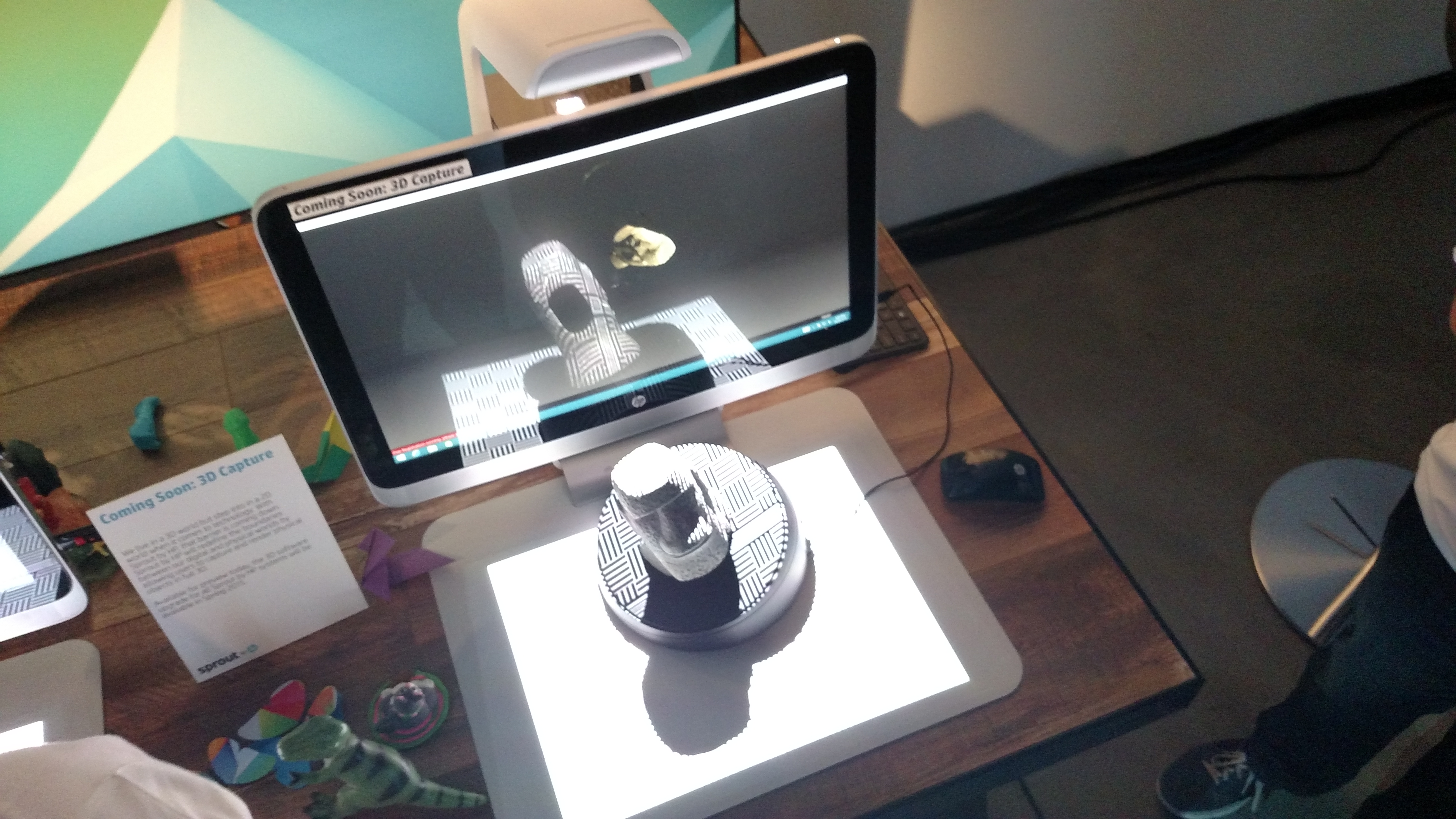 HP Turning Sprout Scanning Workstation - 3D Printing Industry