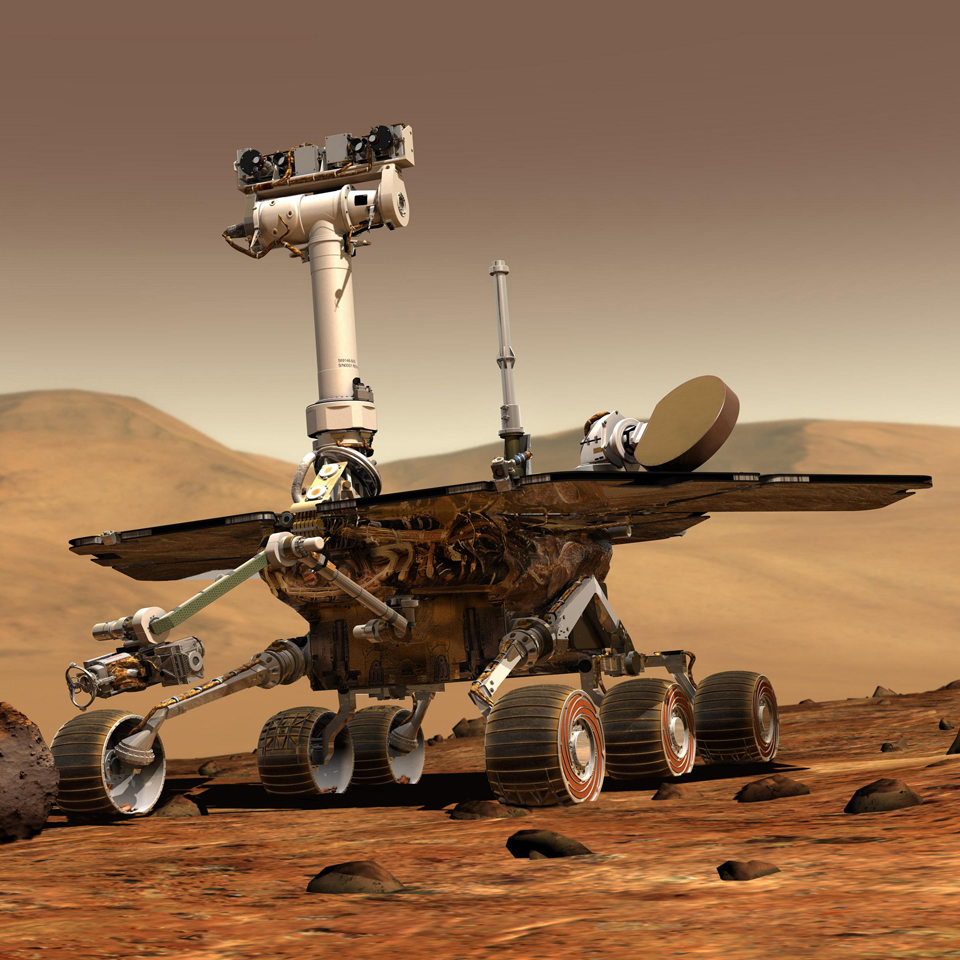 MarsRover-Opportunity for 3D printing industry