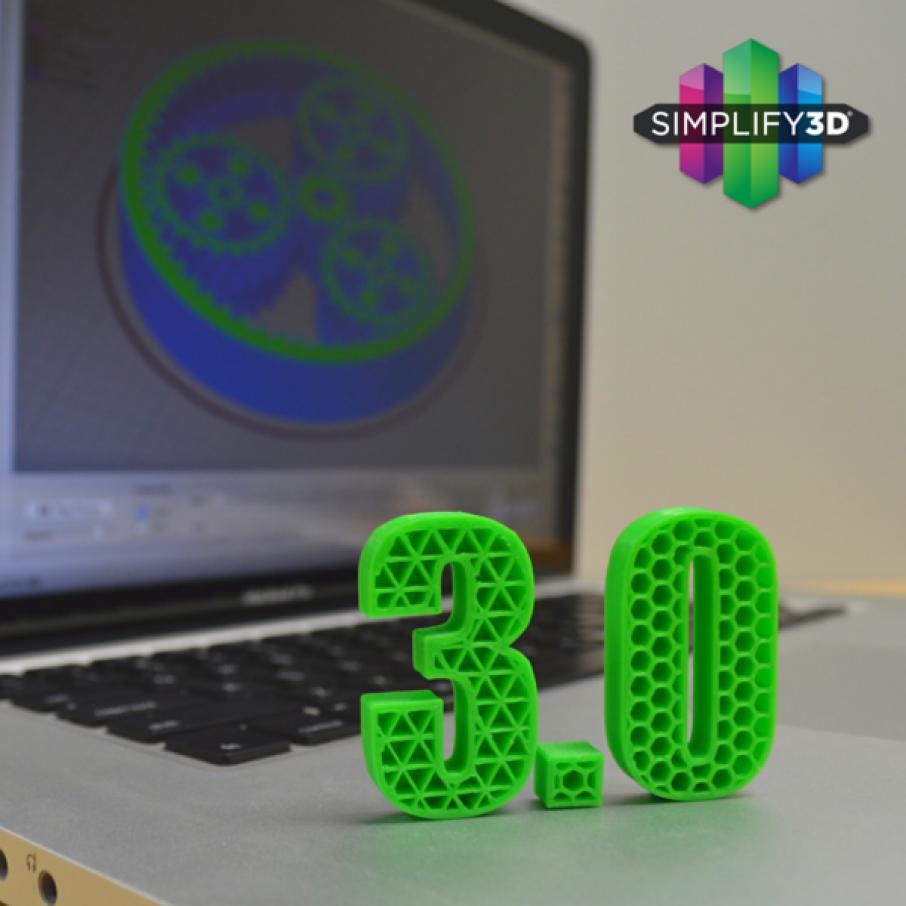 Simplify3D Releases Version 3.0