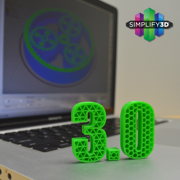 Simplify3D 3.0 3D printing software