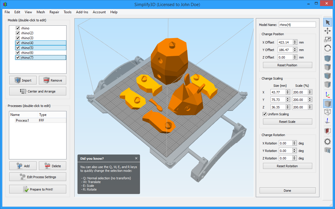 Simplify3d Releases Version 3 0 3d Printing Industry