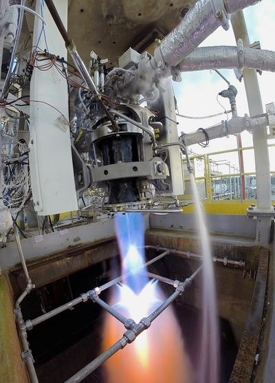 addaero 3D printed iconel rocket engine part test fired by nasa