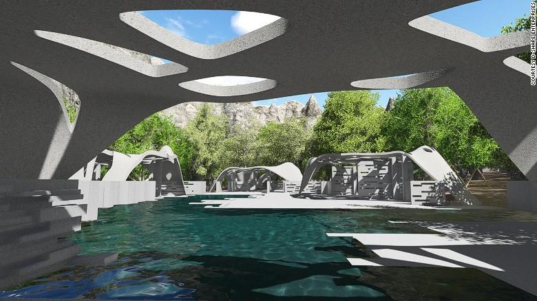 d shape pool