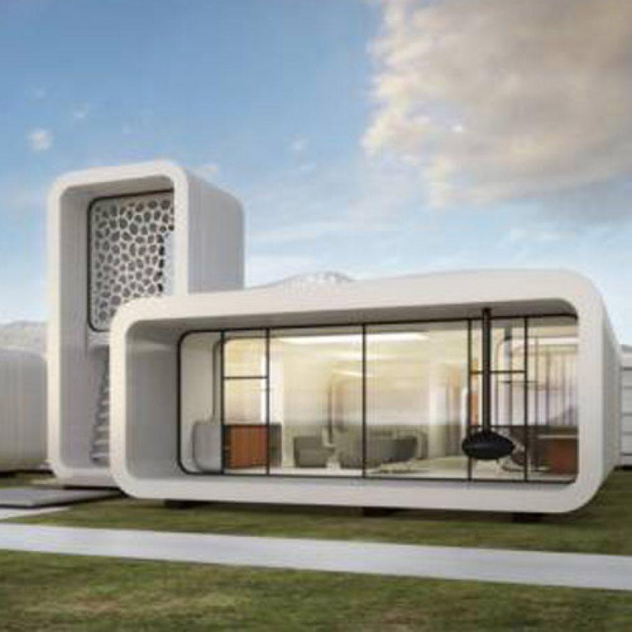 Dubai Ot 3D Print Office Building