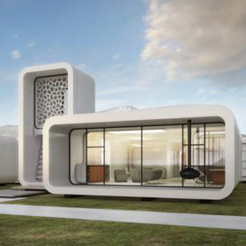 dubai 3D printed office building 3