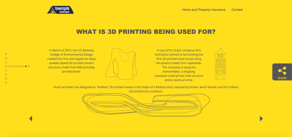 how is 3D printing possible from towergate insurance