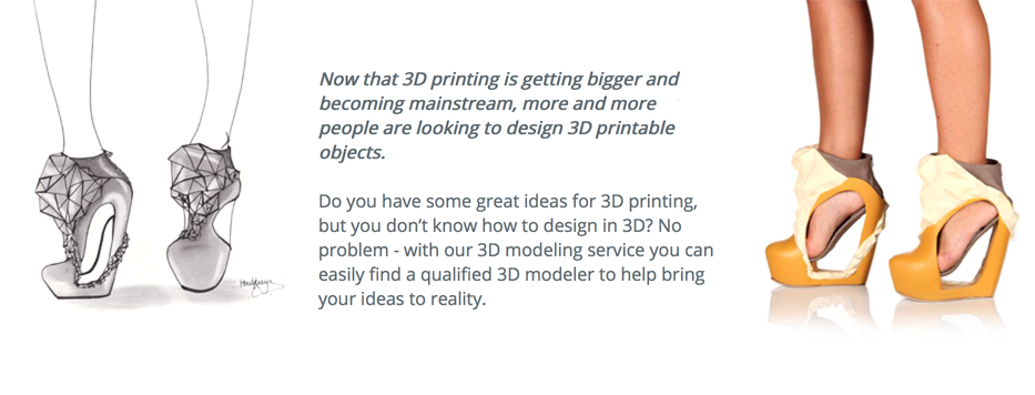 i.materialise 3D modeling services for 3D printing