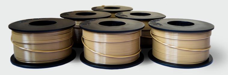 peek 3D printing filament from indmatec