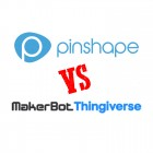 Pinshape vs Thingiverse: Showdown in 3D Model Town