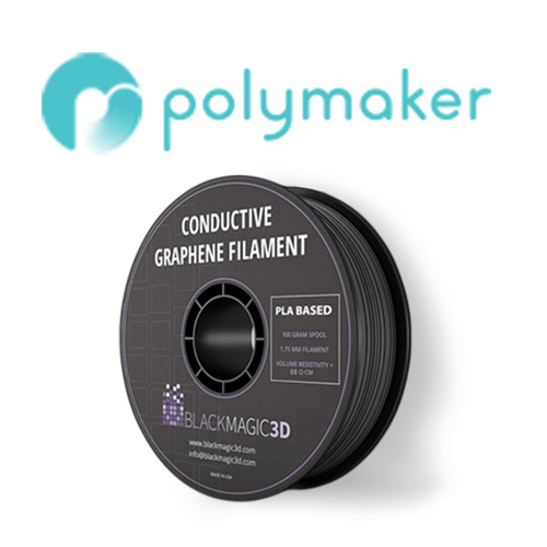 polymaker graphene 3D labs 3D printable graphene filament