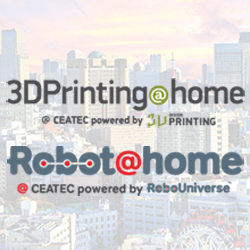 robo@home 3Dprinting@home at createc in japan