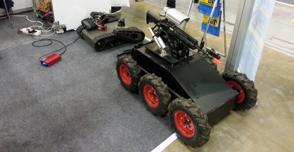 robots at RoboUniverse Inside 3D Printing Seoul Korea