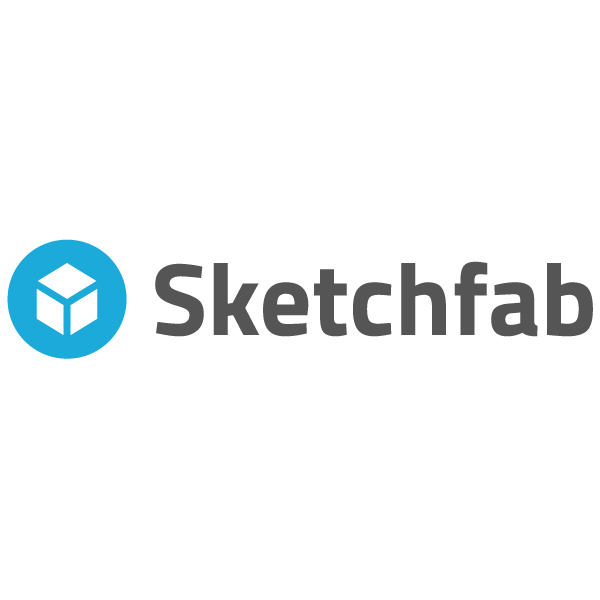 sketchfab 3D content logo for 3D printing industry