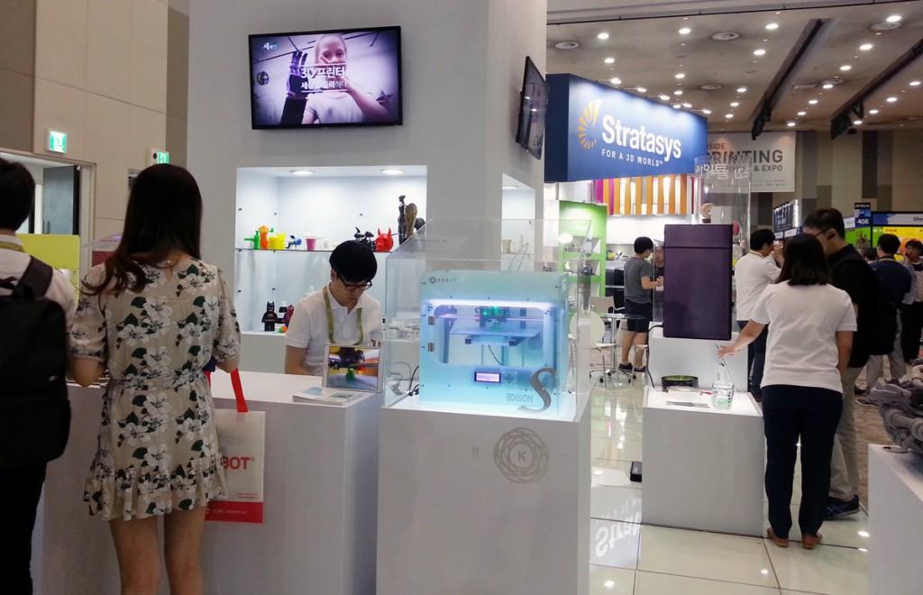 stratasys at Inside 3D Printing Korea