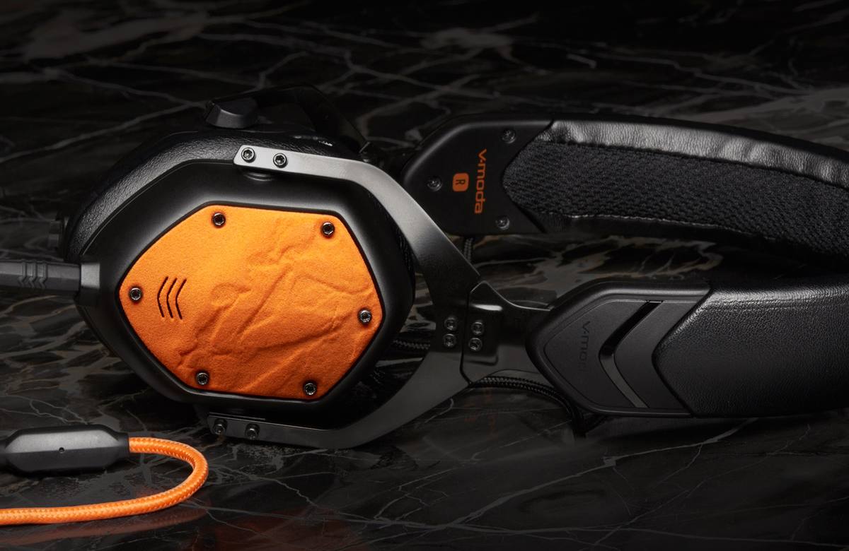 v-moda 3D printed headphone shields