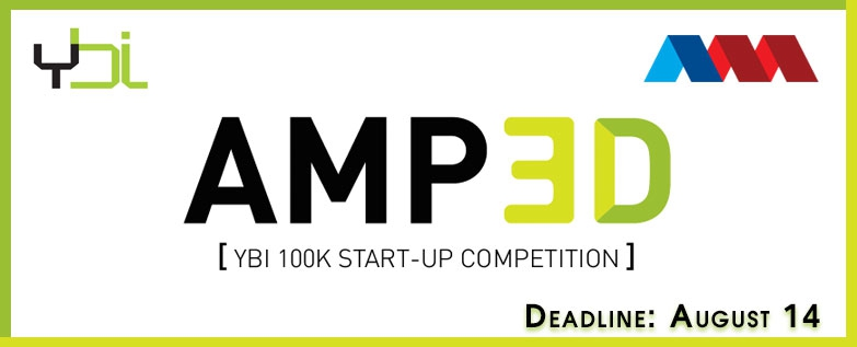 ybi america makes 3D printing start-up competition