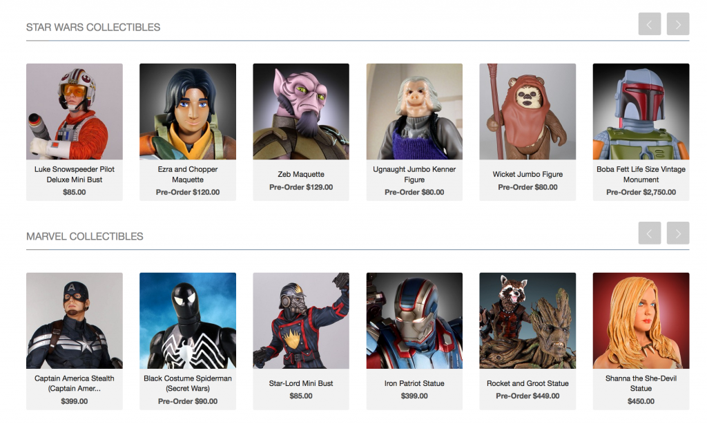 3D printable collectibles from 3D Systems at Comic-Con