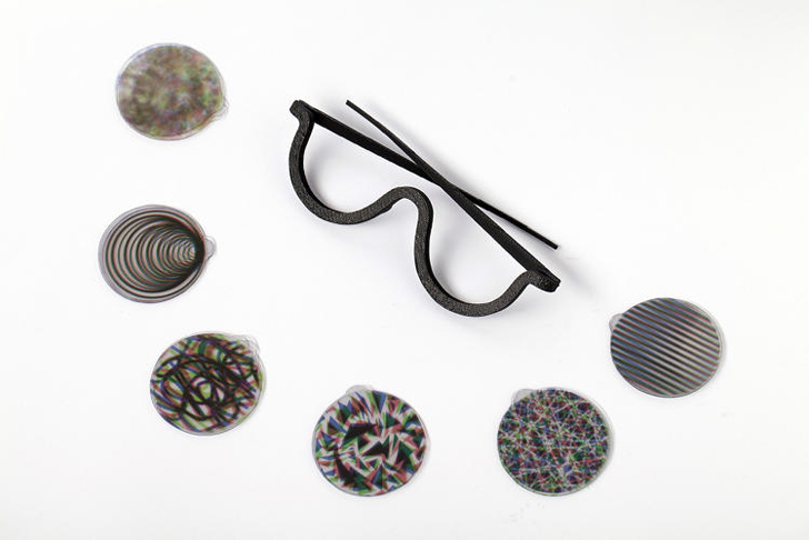 how to make 3d glasses without red and blue