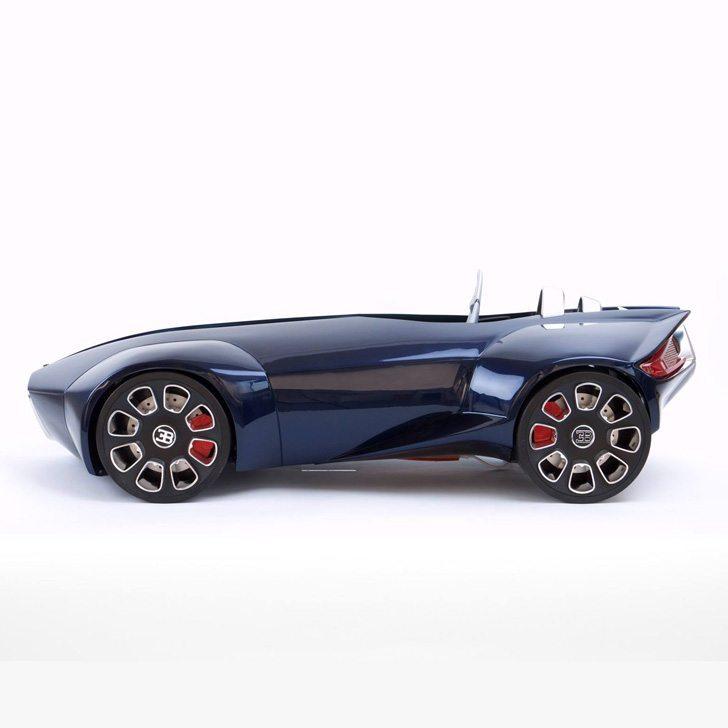 Students 3D Print Bugatti Concept Car