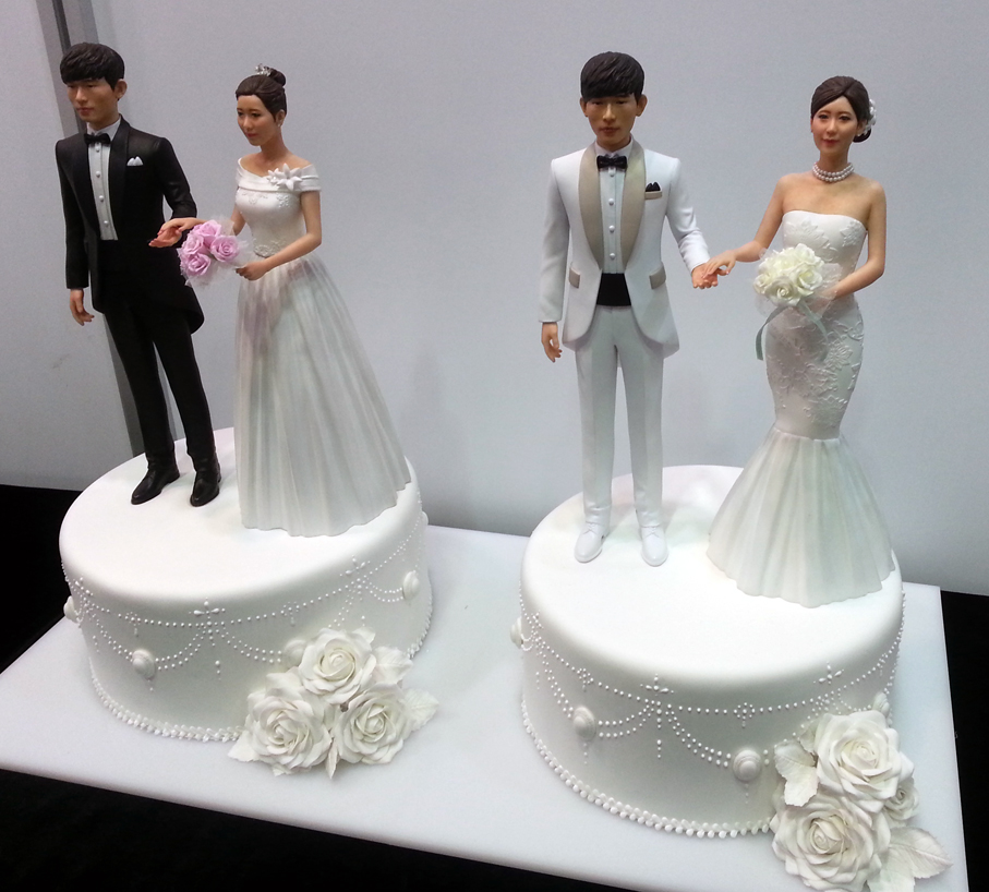 Cake Toppers D Printed