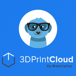 3dprintcloud from materialise 3D printing