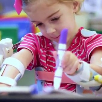 Magic Arms Reach out to Indiegogo to Provide 3D Printed Exoskeletons to More Kids