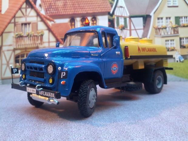 Bucegi 3D printed truck3