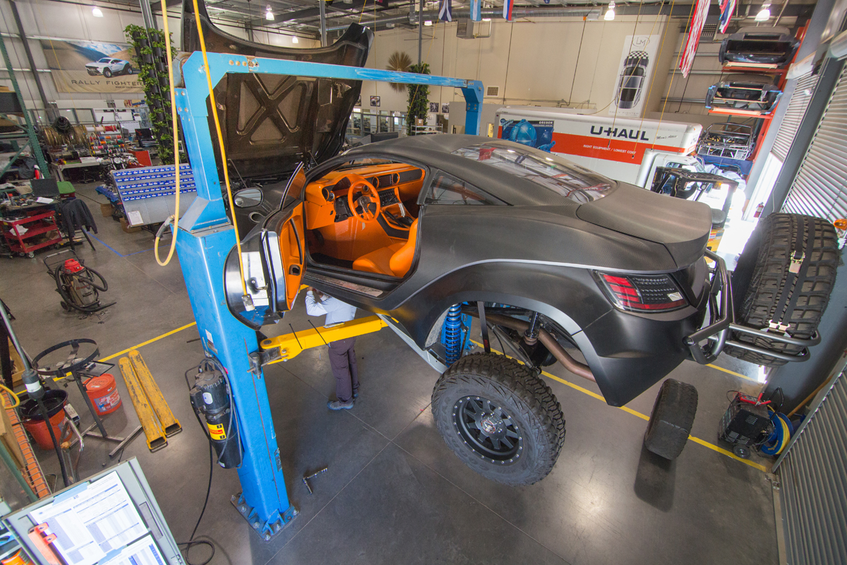 Local Motors' microfactory for 3D printing cars