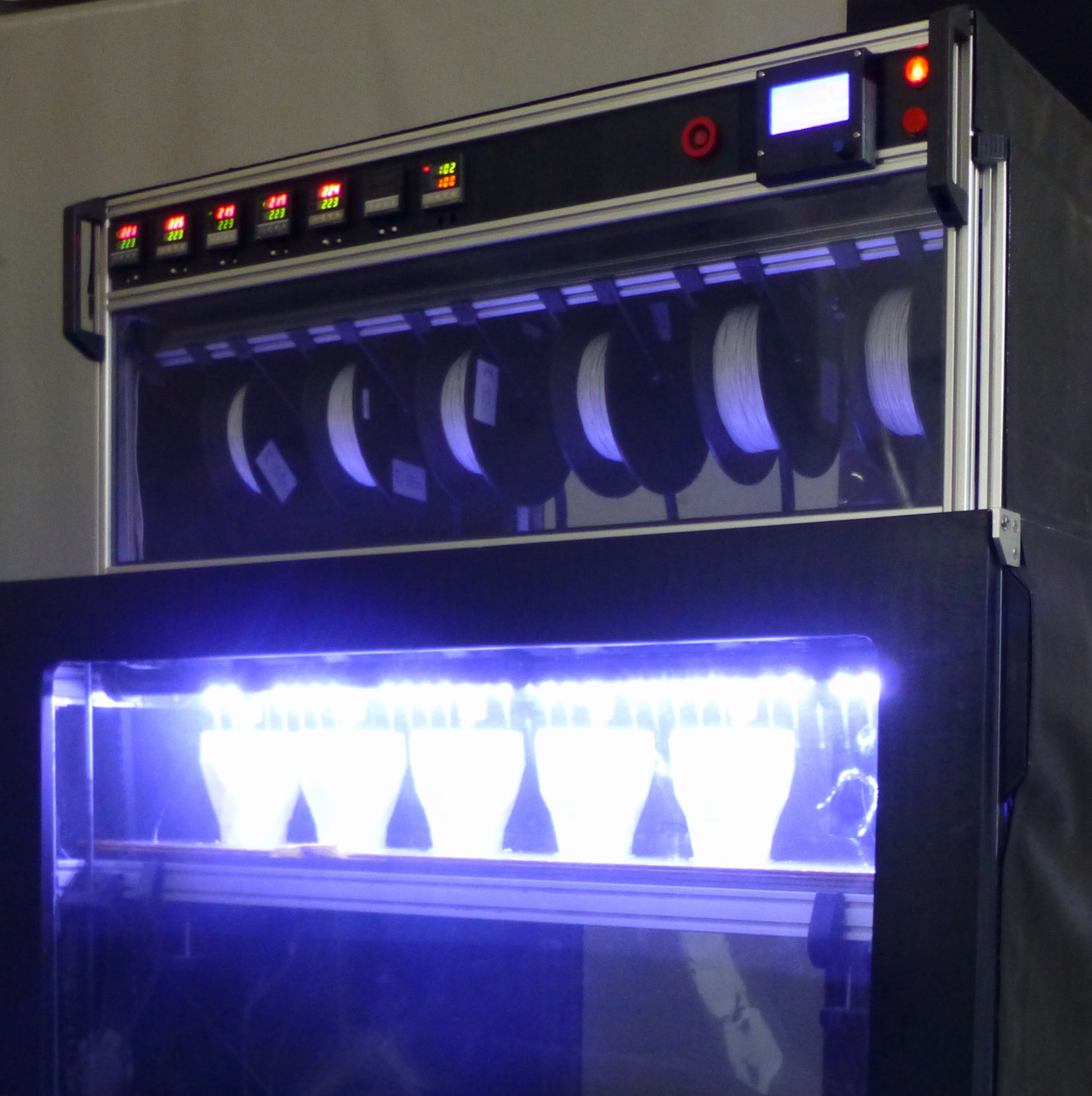 Large Scale Six Head 3D Printer is Ready to Meet Your Demands
