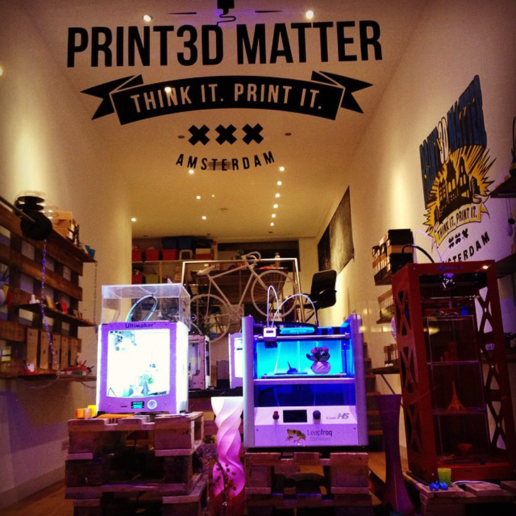 Print3D Matter Crowdfunding Expansion