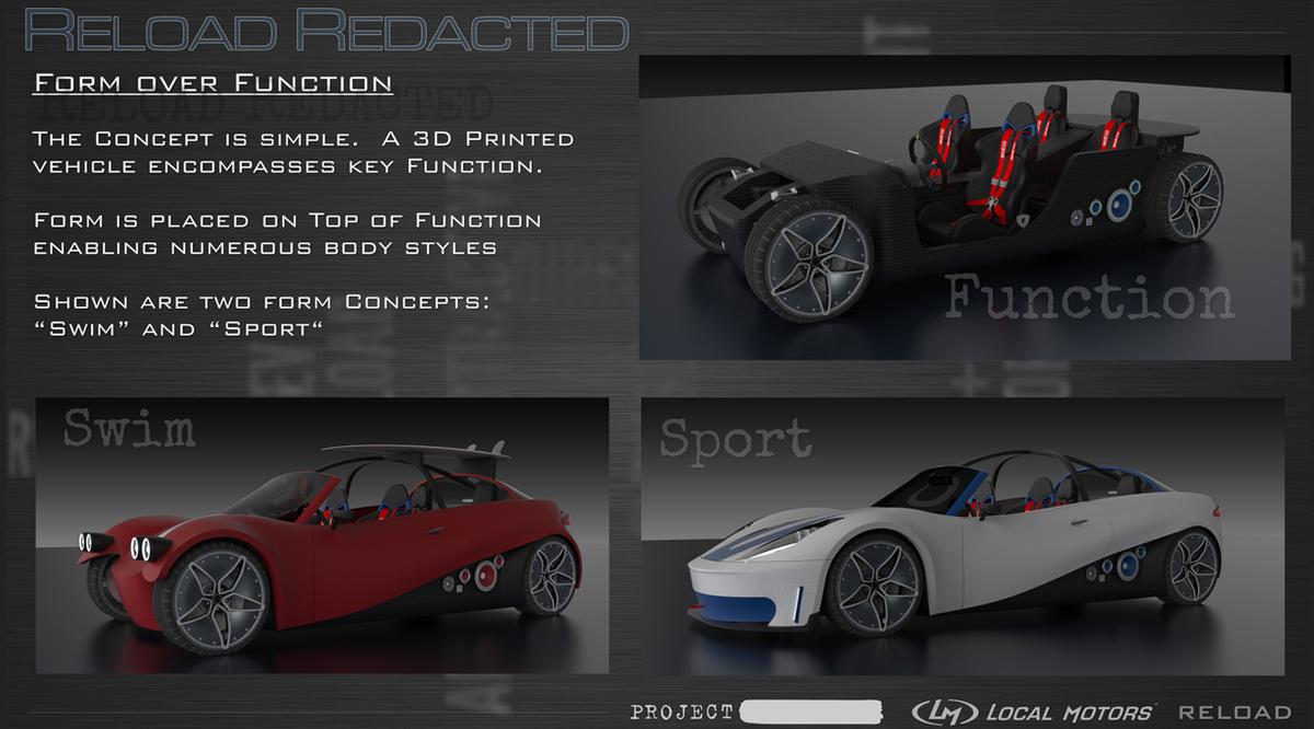 Local Motors 39 Pre Orders 3d Printed Cars 3d Printing