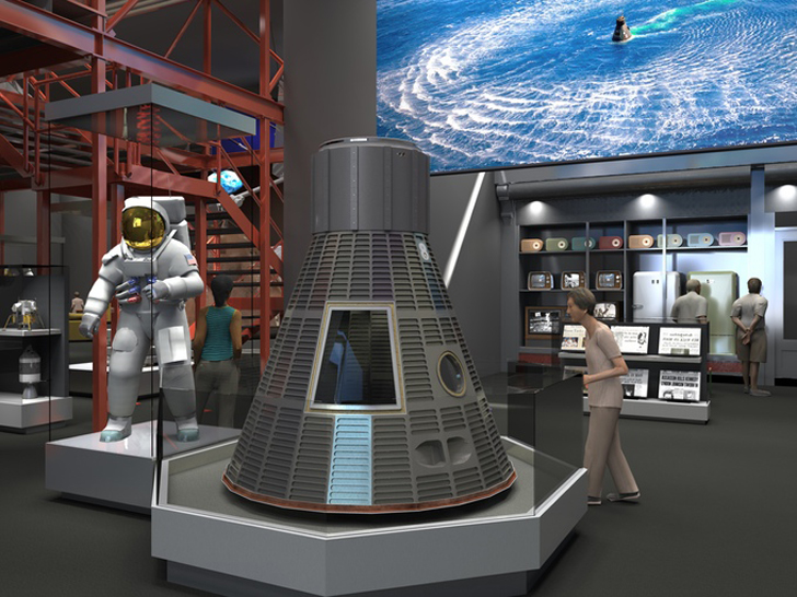 Smithsonian Destination Moon 3D scan Neil Armstrong's spacesuit for 3D printing on Kickstarter