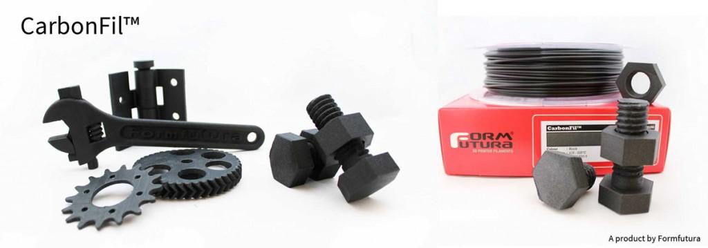 carbonfil 3D printing filament formfutura