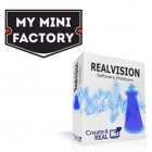 REALvision Software Now Includes MyMiniFactory's Complete 3D Model Library