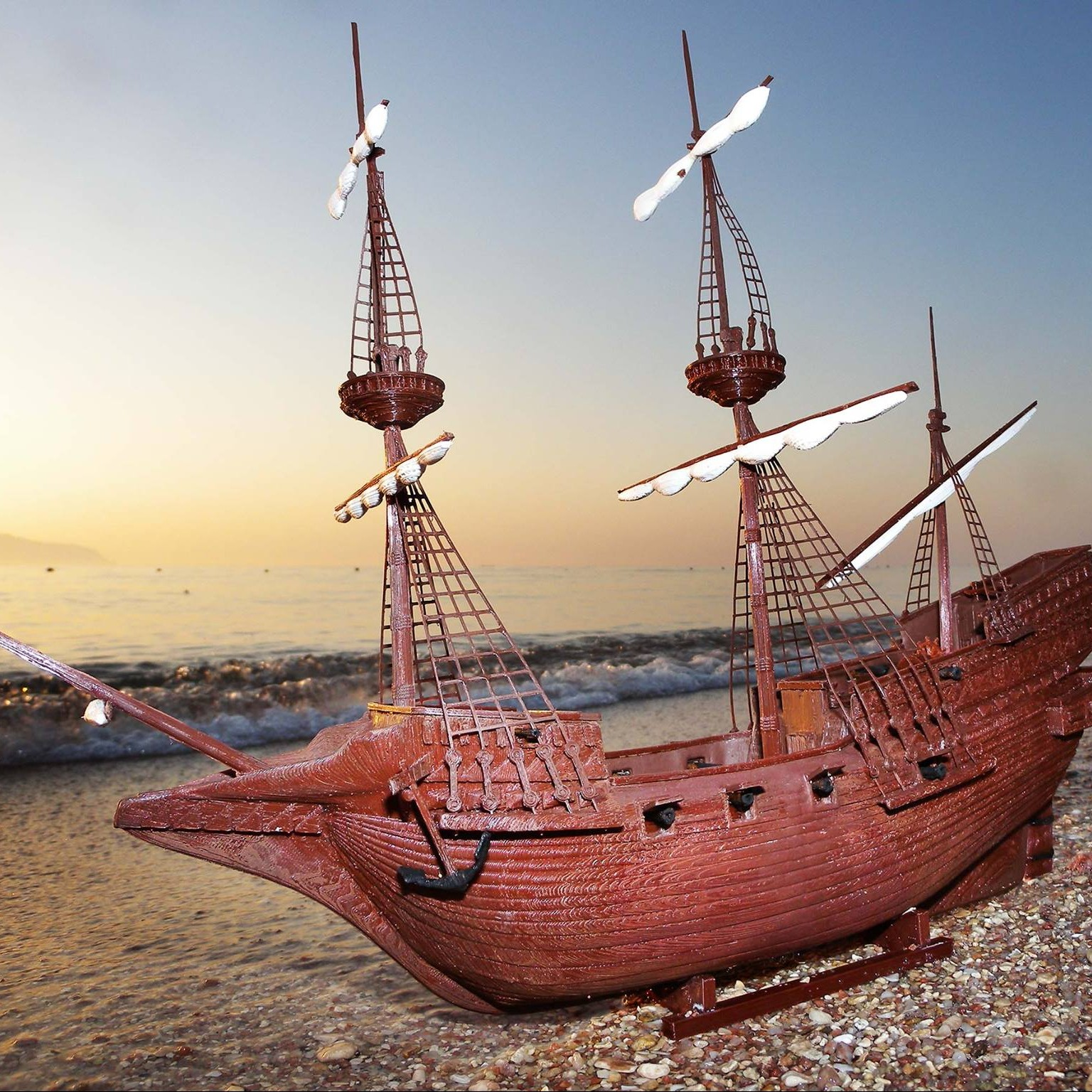 3D Artist Adds Another Chapter to the History of Sir Drake's Golden Hind