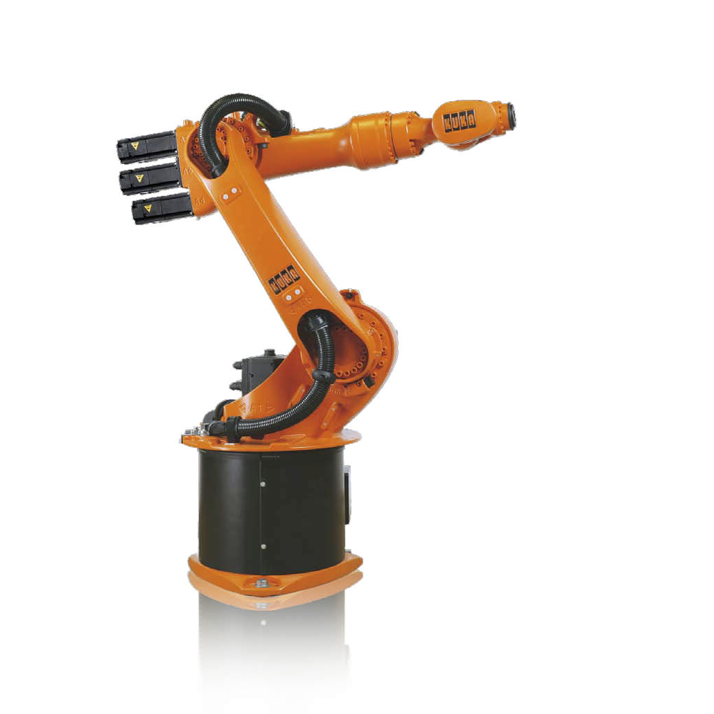 kuka robotic arm modified with 3D printing