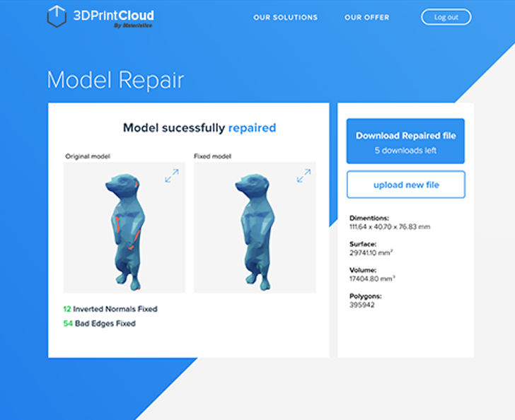 materialise 3Dprintcloud cloud 3d printing