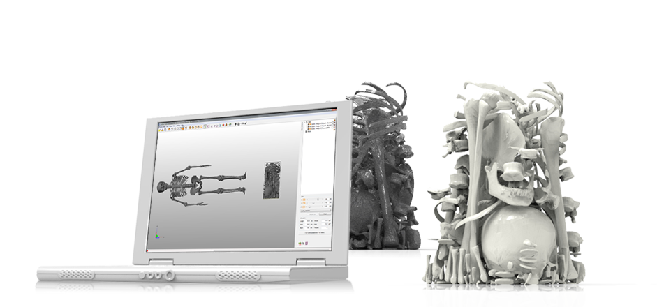 netfabb professional 6 3D printing software packing