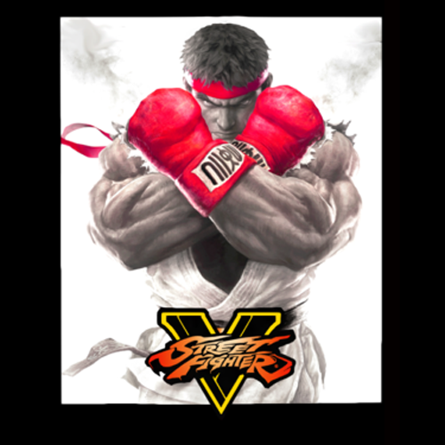 street fighter 5 3d printed cover capcom comic-con 2015