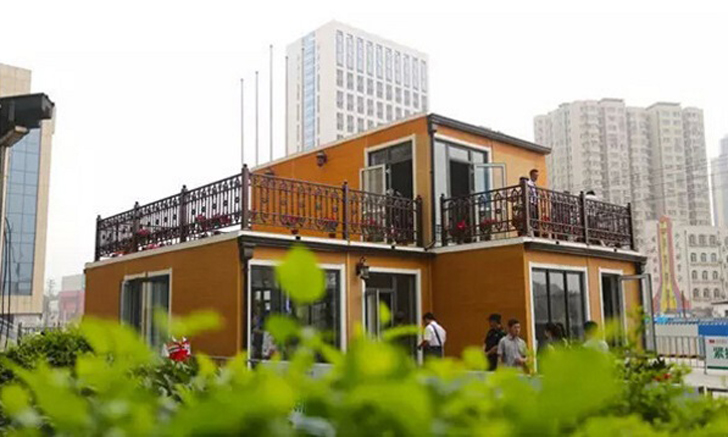 zhuoda 3D printed two-storey villa completed on site
