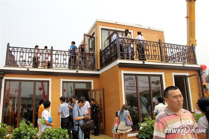 zhuoda 3D printed two-storey villa completed