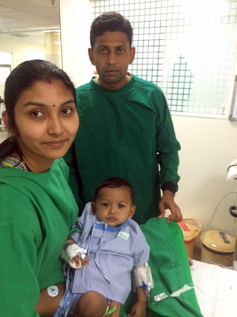11-month-old Lavesh 3D printed heart model surgery in India