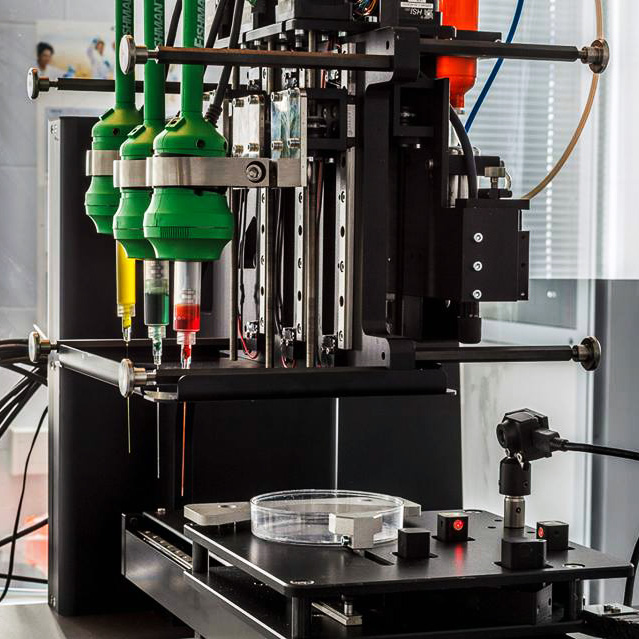 3D bioprinting solutions fabion 3D bioprinter from Russia