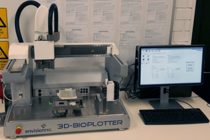 3D printed DBS devices with bioplotter from envisiontec